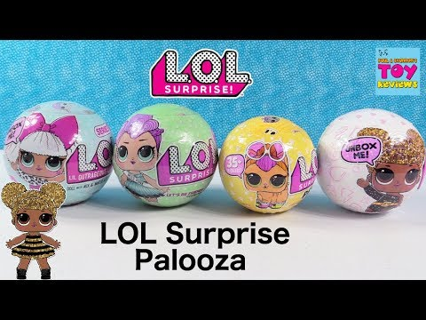 LOL Surprise Pets Series 1 2 3 Glitter Wave Doll Toy Review Opening | PSToyReviews