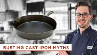 3 Cast Iron Myths Debunked (Hint: You Don't Have to Worry About Washing it With Soap)