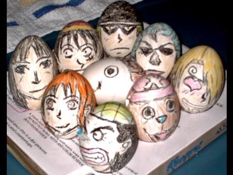One Piece Easter Eggs Easter Eggs em One Piece
