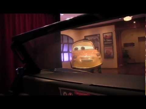 POV (Full Ride) of Radiator Springs Racers in Cars Land