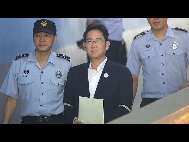 Samsung heir Jay Y. Lee jailed in South Korea