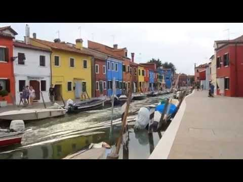 Venice Boat Trip to Murano & Burano July 2014