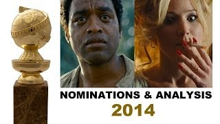 Golden Globes 2014 Nominations - Jennifer Lawrence, Michael Fassbender, Idris Elba