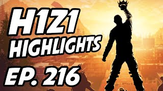 H1Z1: King of the Kill Daily Highlights | Ep. 216 | Symfuhny, Uncrucify, Eriuc, OutbackArena