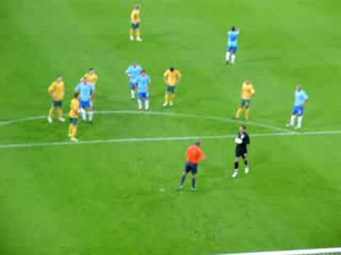 Netherlands vs Australia - Harry Kewell Penalty Kick 2008