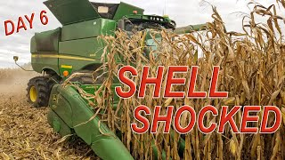 SHELL SHOCKED - S690 THIRSTY for FUEL | HARVEST 19 Day 6