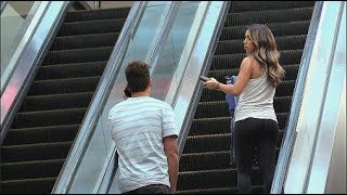 Barking On The Escalator!!