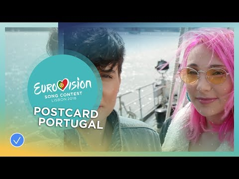 Postcard of Cláudia Pascoal from Portugal - Eurovision 2018