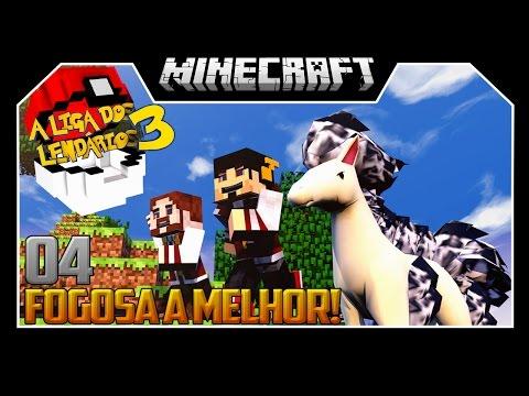 FOGOSA A MELHOR - LIGA DOS LENDÁRIOS 3 ‹ 04 / Minecraft ›