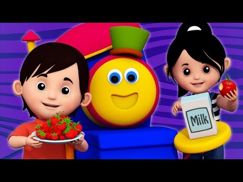 Food Song | Sight Words | Learning Street With Bob The Train | Videos For Babies by Kids Tv