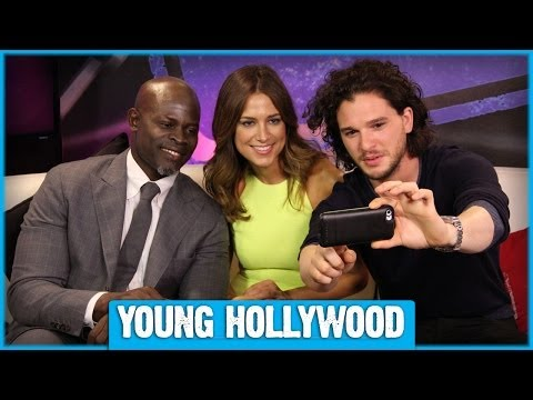 Kit Harington & Djimon Hounsou on Voice Acting vs On-Camera Acting