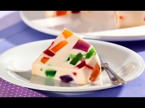 Rico postre gelatina mosaico mosaic gelatin youtube - Postres con gelatina y leche condensada ...