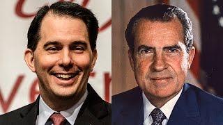 Is Scott Walker the Political Reincarnation of Richard Nixon?