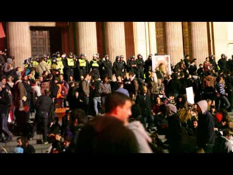 Police Storming the Steps: Occupy LSX (P.3 of 3)