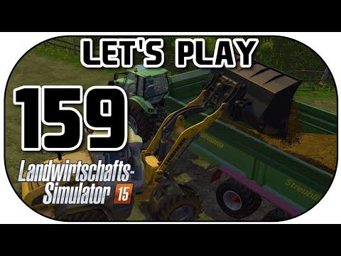 Let's Play Landwirtschafts Simulator 2015 Part 159 Mist verladen und verteilen