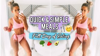 WHAT I EAT IN A DAY TO GET FIT