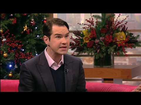 Funny man Jimmy Carr talks comedy on GMTV