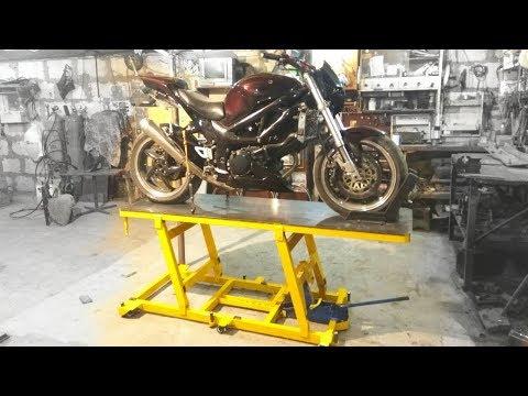 Подъёмник для мотоцикла своими руками 998