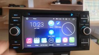 Navigatie Ford Focus 2004-2008 cu Android 5.1