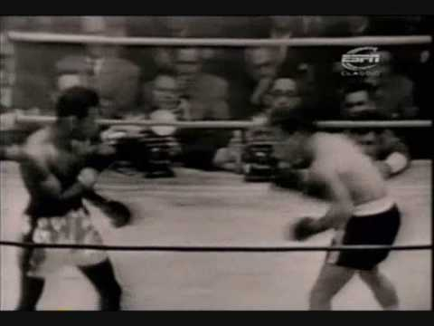 Sugar Ray Robinson vs Rocky Graziano Video
