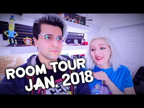 Room Tour 2018 , a Look At The Office , Maker Space and Nerd Cave