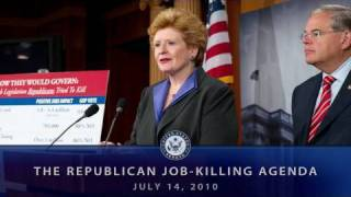 Republican Job-Killing Agenda