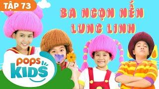 Mầm Chồi Lá Tập 73 - Ba Ngọn Nến Lung Linh | Nhạc Thiếu Nhi Cho Bé | Vietnamese Songs For Kids