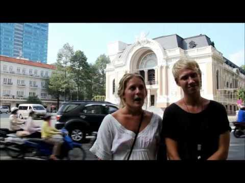 The Opera House - Interviews travelers come from Sweden