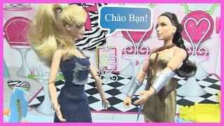 Barbie Kết Bạn Với Wonder Woman! Chị Bí Đỏ - Búp Bê Barbie Ken - Đồ Chơi Trẻ  - Kênh Chị Bí Đỏ