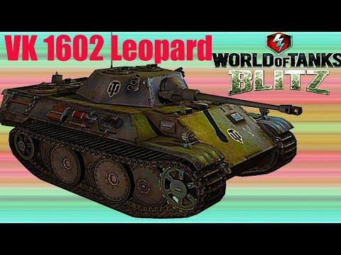 WoT Blitz обзор танка VK LEOPARD немецкий средний танк новичкам немецкая ветка World of Tanks Blitz