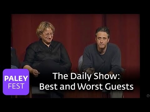 Jon Stewart Reveals The Best and Worst Guests of all time (Paley Center)