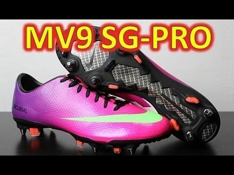 Nike Mercurial Vapor 9 IX SG-PRO Fireberry - Unboxing + On Feet