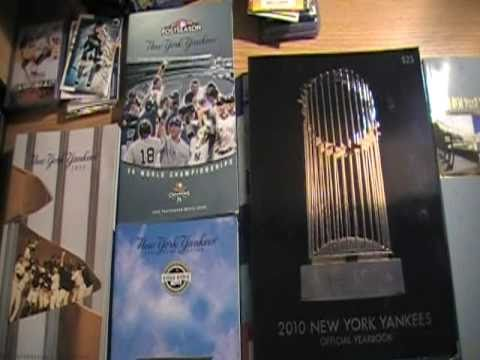 New York Yankees 2009 and 2010 mediaguides and yearbooks