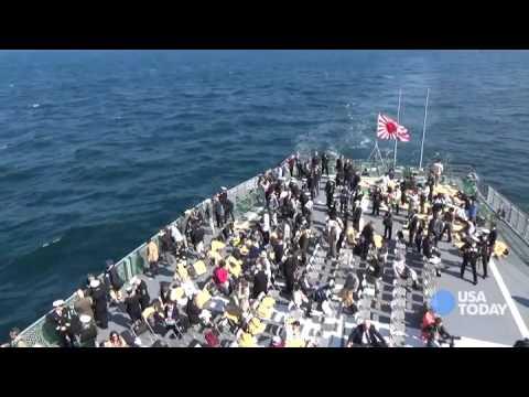 Japan Maritime Self Defense Force Fleet Week 2015