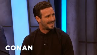 "How James Ransone & The ""IT"" Crew Dealt With Stressful Scenes - CONAN on TBS"