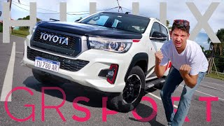 Toyota Hilux GR Sport (Gazoo Racing) TEST - LO MEJOR Y LO PEOR - TURBO Argentina