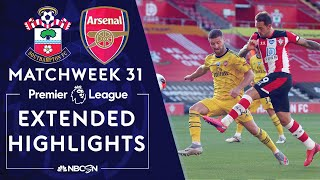 Southampton v. Arsenal | PREMIER LEAGUE HIGHLIGHTS | 6/25/2020 | NBC Sports