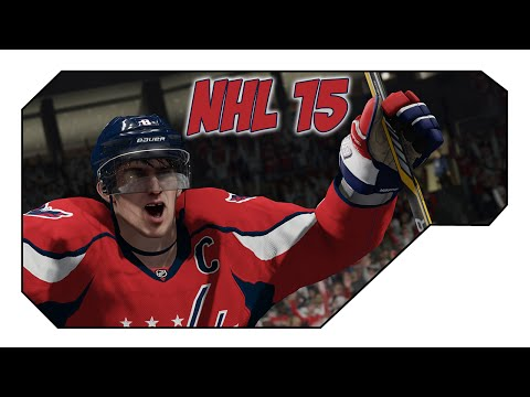 NHL 15 PS4 - My goal is to score and FIGHT! (BE A PRO Mode - Custom Character)