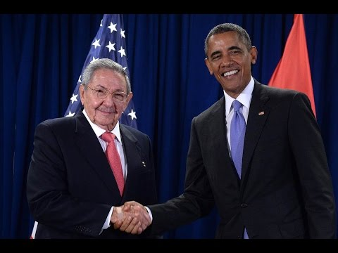 Obama and Castro Speech in Cuba Full video