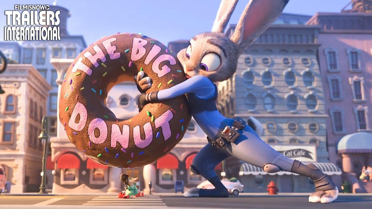 「ズートピア」本編映像:ウサギのジュディが巨大に!?