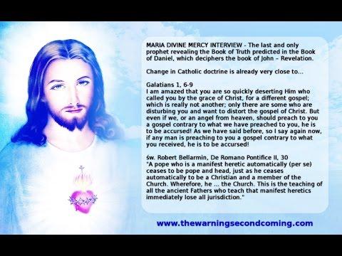 Maria Divine Mercy Interview video