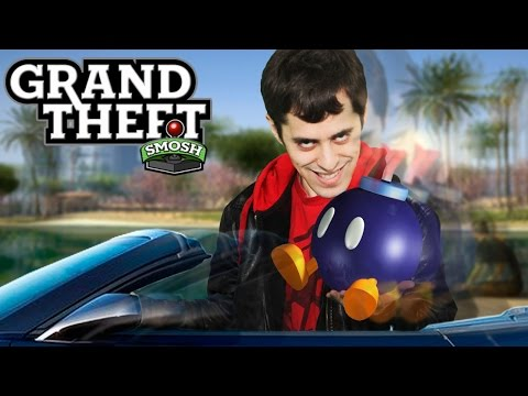 WE BLOW OURSELVES UP (Grand Theft Smosh)