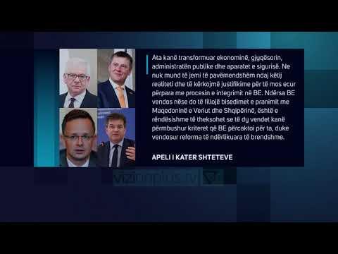 Negociatat/ Çekia, Polonia, Hungaria dhe Sllovakia: Duhet vendim pozitiv - Lajme - Vizion Plus