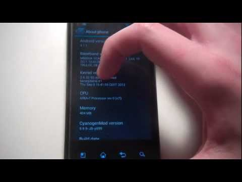 Jelly Bean on T-Mobile G2x (LG Optimus 2x) (CM10 - 4.1.1)