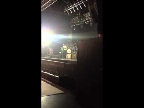 Robert Cray Band sound check O2 Glasgow Jazz Festival 2012