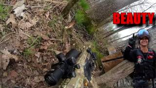 HUNTING IN THE SWAMP WITH WOLF