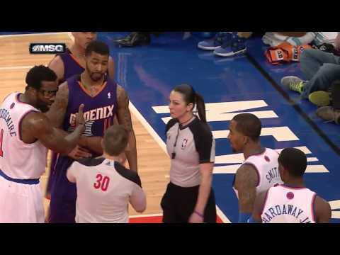 Bad call: Markieff Morris ejected at the Garden - 2014.01.13