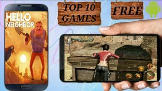 Top 10 HD game for Android 2018 ||zomehindiH