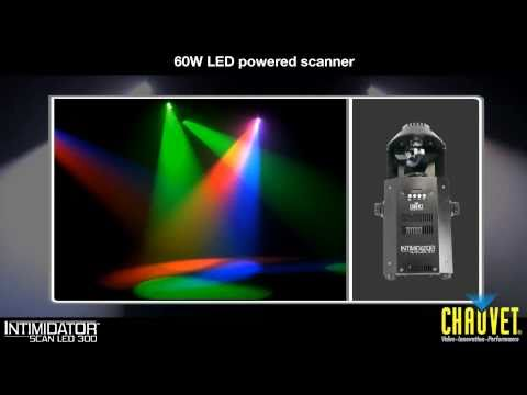 Intimidator™ Scan LED 300: with a 3-sided prism for great effects from CHAUVET®