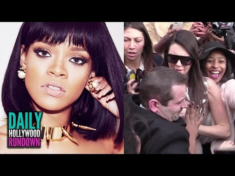 Kendall Jenner Trampled At Paris Fashion Week? Rihanna New Songs